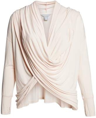 Caslon R R) Off-Duty Long Convertible Cardigan (Regular & Petite)