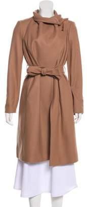 Ted Baker Wool-Blend Belted Coat