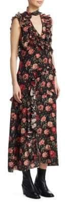 R 13 Ruffle Floral Dress