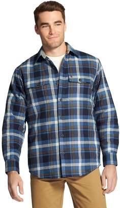 Izod Men's Classic-Fit Plaid Shirt Jacket