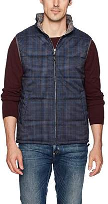 Robert Graham Men's Oswego Woven Puffer Vest