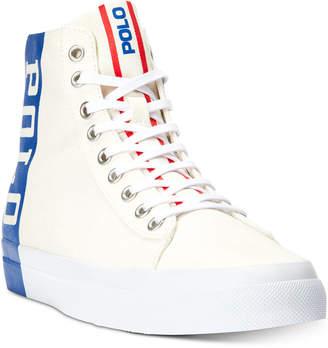 Polo Ralph Lauren Men Solomon Ii High-Top Sneakers Men Shoes