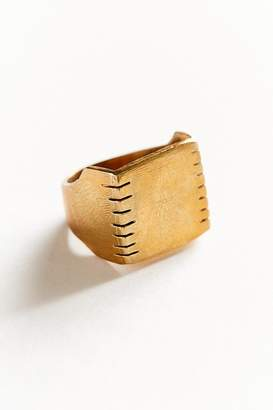 Oxbow Designs Routes Signet Ring