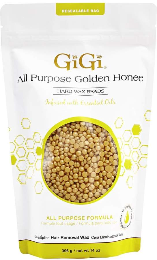 Gigi All Purpose Golden Honee Hard Wax Beads