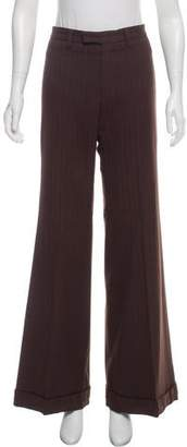 Barbara Bui Mid-Rise Wide-Leg Pants