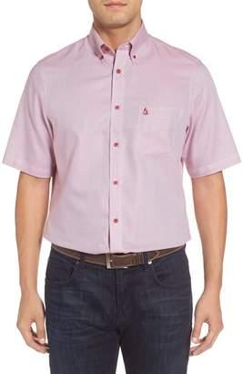 Nordstrom 'Classic' Smartcare(TM) Regular Fit Short Sleeve Cotton Sport Shirt