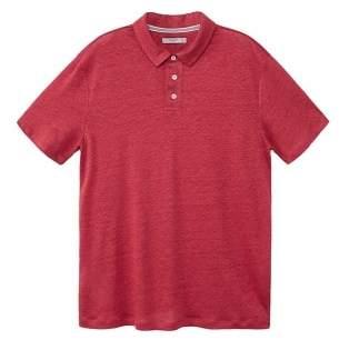 Mango man MANGO MAN 100% linen polo shirt