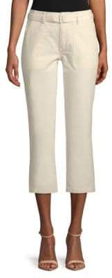 Vince Belted Flared Cropped Pants