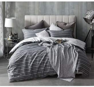 Byourbed BYB Faded Stripes - Black Duvet Cover