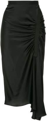 CHRISTOPHER ESBER drapped mid skirt