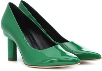 Tibi Zo patent leather pumps