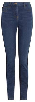 Next Womens Mid Blue Side Seam Denim Leggings