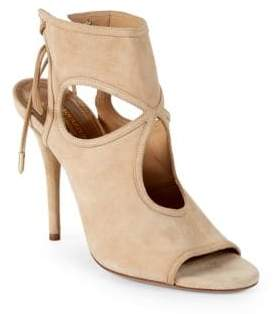Aquazzura Sexy Thing Cut-out Booties