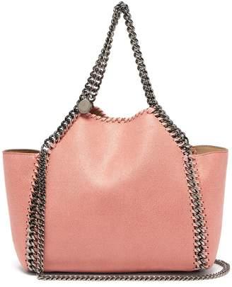 Stella McCartney Falabella mini faux-suede reversible tote bag