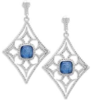 Armenta New World Diamond & Kyanite Drop Earrings