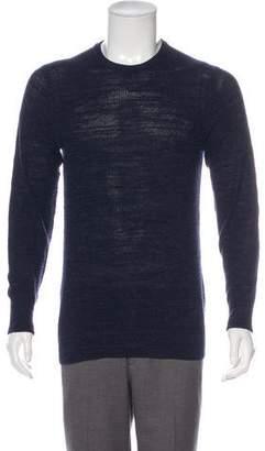 Paul Smith Rib Knit Crew Neck Sweater