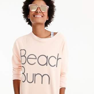 "J.Crew ""Beach bum"" sweatshirt"