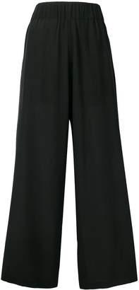 Semi-Couture Semicouture chiffon wide leg trousers