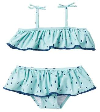 Jessica Simpson Tropical Floral 2-Piece Bathing Suit (Toddler Girls)