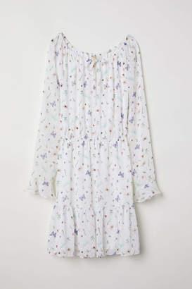 H&M Flounced Dress