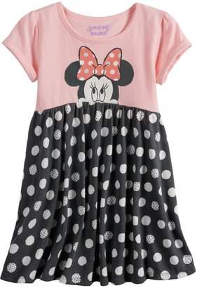 Disneyjumping Beans Disney's Minnie Mouse Toddler Girl Polka-Dot Skirt Dress by Jumping Beans