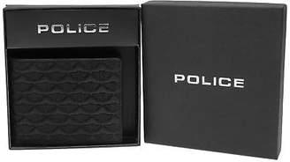 Police Mens Wings Slim Wallet