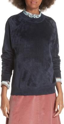 Elizabeth and James Pearl Velvet Sweatshirt