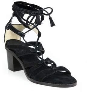 Frye Brielle Suede Gladiator Sandals