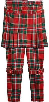 Burberry Modern Stewart Royal Tartan Punk Trousers