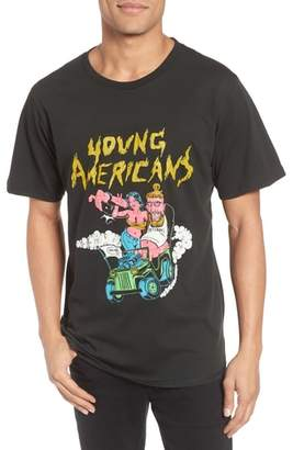 Barking Irons Young Americans Slim Graphic T-Shirt