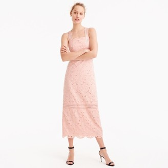 Collection dress in Austrian eyelet $298 thestylecure.com