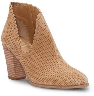 Vince Camuto Fernlee Perforated Suede Bootie
