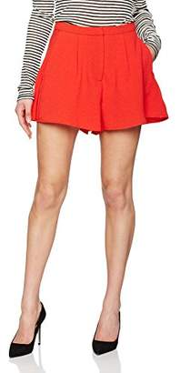 PepaLoves Women's Leticia Red Boy Shorts