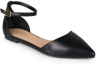 Brinley Co. Women's Almond Toe Flats