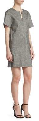 Theory Linen-Blend Shift Dress