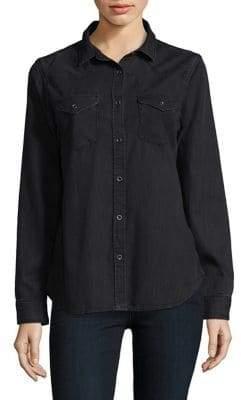 Mavi Jeans Basic Cotton Button-Down Shirt