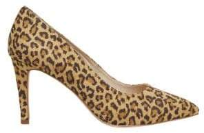 Vero Moda Leopard Printed High-Heel Pumps