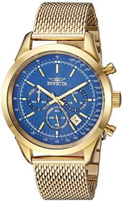 Invicta Men's 'Speedway' Quartz Stainless Steel Casual Watch