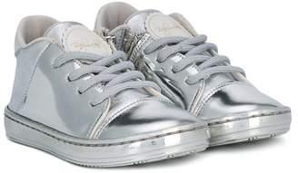 Baby Walker logo patch sneakers