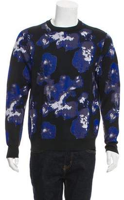 Christian Dior Patterned Crew Neck Sweater
