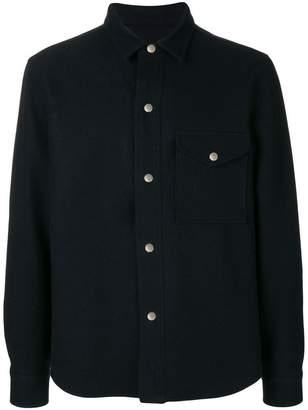 Ami Alexandre Mattiussi Snap-Buttoned Overshirt