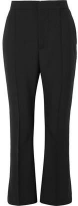 Marni Wool Flared Pants - Black