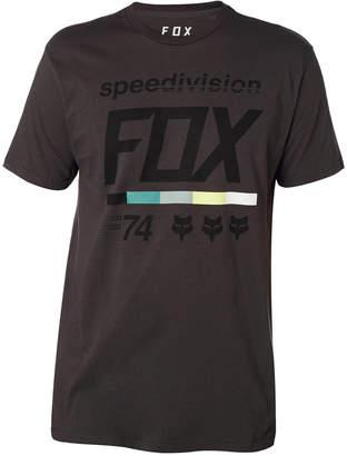Fox Men's Multi-color Color Bar Logo T-Shirt