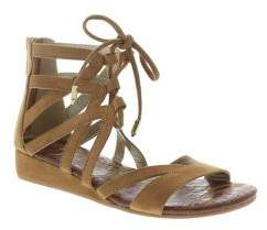 Sam Edelman Girl's Danica Faux-Suede Zippered Sandals