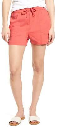 Caslon Pull-On Twill Shorts