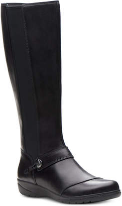 Clarks Collection Women's Cheyn Meryl Riding Boots Women's Shoes