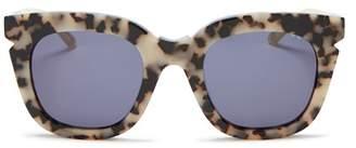 Cat Eye Pared Eyewear Women's Pools & Palms Oversized Sunglasses, 50mm