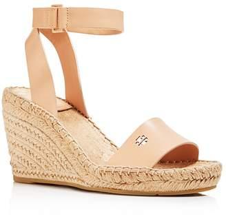 Tory Burch Women's Bima Espadrille Platform Wedge Sandals