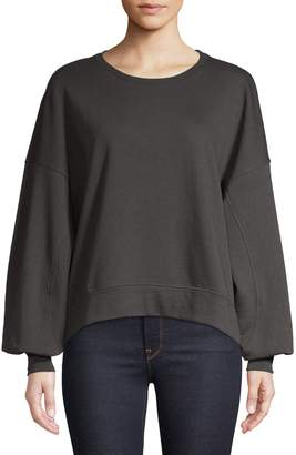 Only Henry Organic Cotton-Blend Sweatshirt
