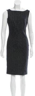 Diane von Furstenberg Sleeveless Herringbone Dress